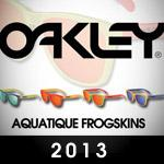 Oakley Aquatique Frogskins - A New Year A New Frogskin