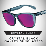 Make it Crystal Clear | Crystal Black Oakley Sunglasses