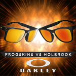 Clash Of The Titans! | Oakley Frogskins Sunglasses vs Oakley Holbrook Sunglasses