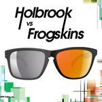 oakley holbrook vs frogskins