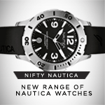 Nifty Nautica Watches