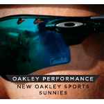 Performance is Everything! New Oakley Sports Performance Sunglasses