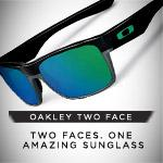 It's Good to be Two Faced - Oakley Two Face Sunglasses