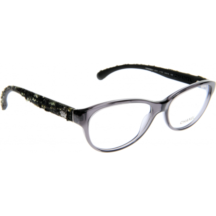 Chanel Tweed Eyeglass Frames : Chanel CH3243 1191 54 Glasses - Shade Station
