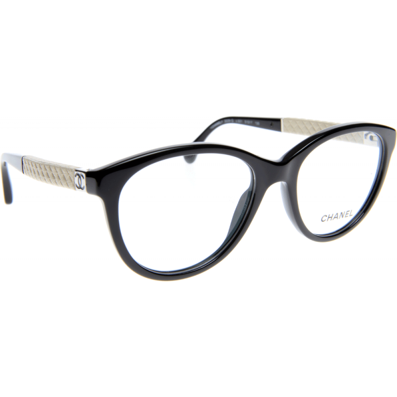 Chanel Prescription Eyeglass Frames : Chanel CH3229Q C501 51 Glasses - Shade Station