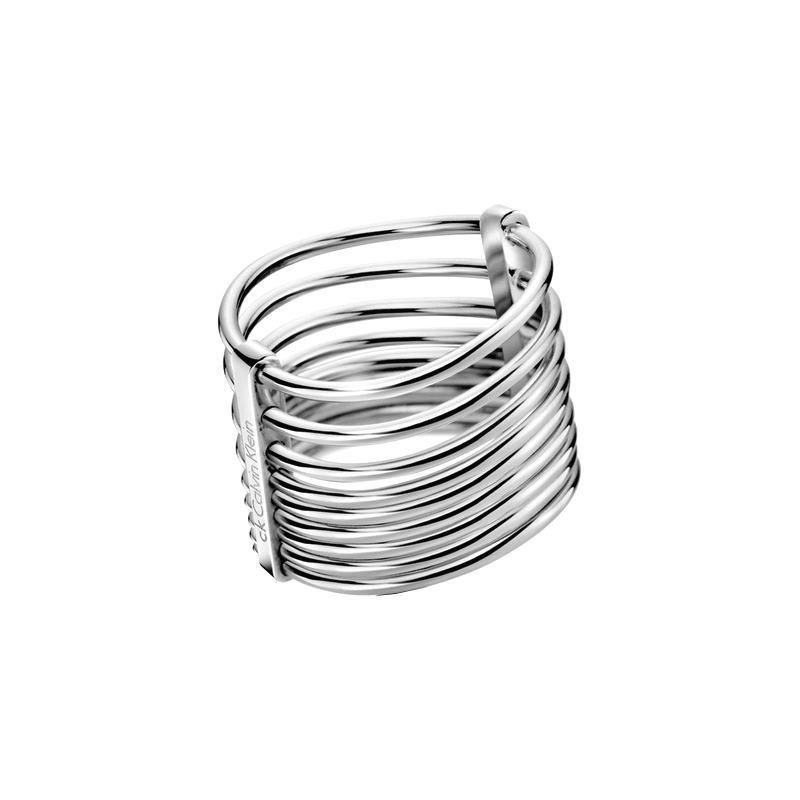 calvin klein form ring kj77ar010108 jewellery shade station. Black Bedroom Furniture Sets. Home Design Ideas