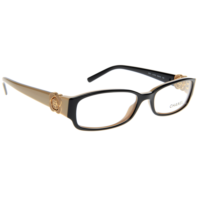 Chanel Prescription Glasses Frame : Chanel CH3131 1013 53 Glasses - Shade Station