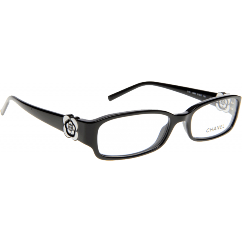 Chanel Prescription Eyeglass Frames : Chanel CH3131 C888 53 Glasses - Shade Station