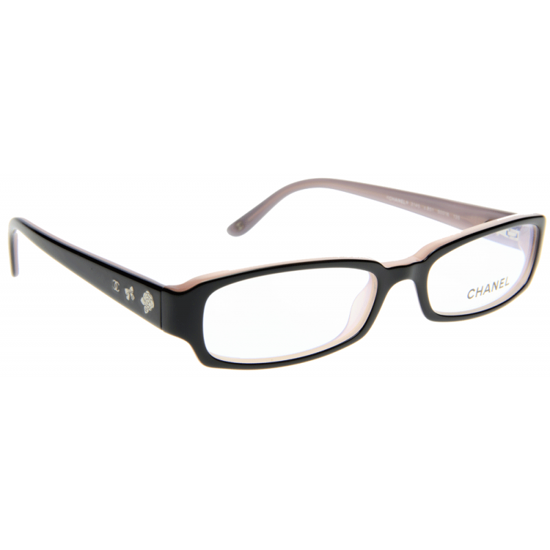 Chanel Prescription Glasses Frame : Chanel CH3145 C851 50 Glasses - Shade Station