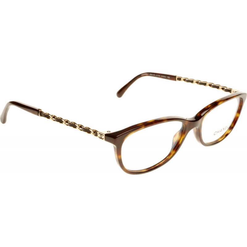 Chanel Prescription Glasses Frame : Chanel CH3221Q C714 51 Glasses - Shade Station