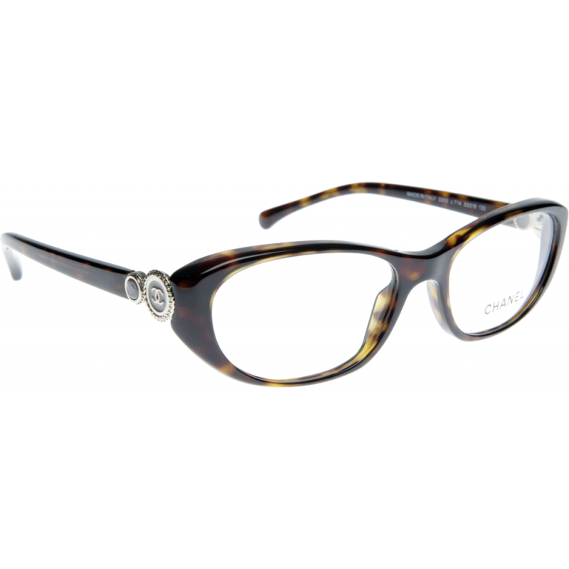 Chanel Prescription Eyeglass Frames : Chanel CH3203 C714 55 Glasses - Shade Station