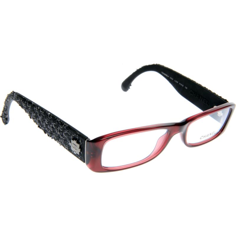 Chanel Tweed Eyeglass Frames : Chanel CH3244 C539 51 Glasses - Shade Station