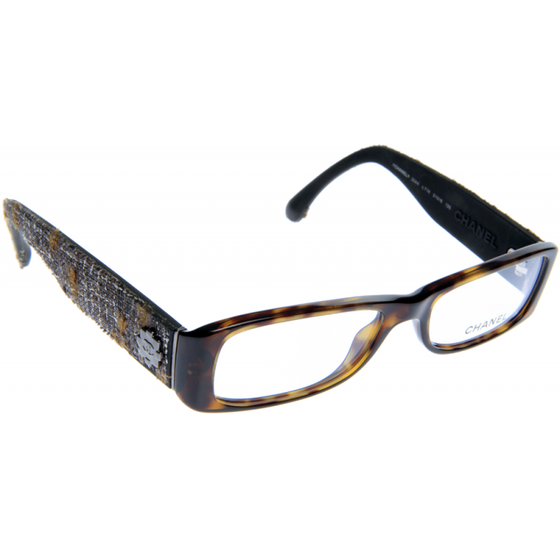 Chanel Tweed Eyeglass Frames : Chanel CH3244 C714 51 Glasses - Shade Station