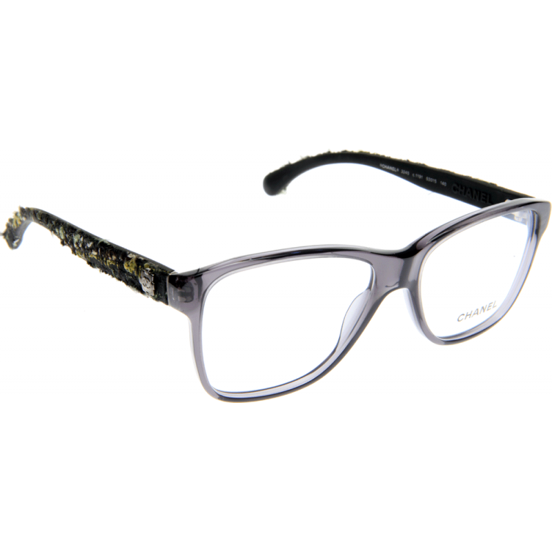 Chanel Prescription Eyeglass Frames : Chanel CH3245 1191 53 Glasses - Shade Station