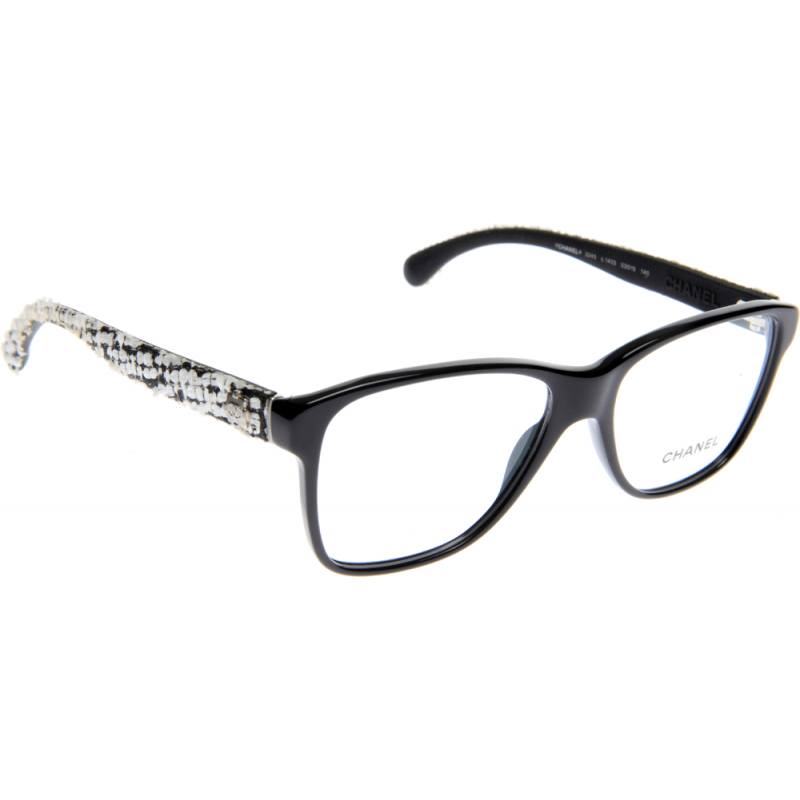 Chanel Prescription Eyeglass Frames : Chanel CH3245 1403 53 Glasses - Shade Station