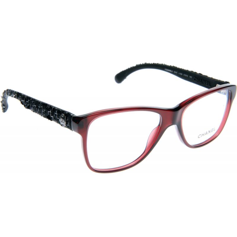 Chanel Tweed Eyeglass Frames : Chanel CH3245 C539 51 Glasses - Shade Station