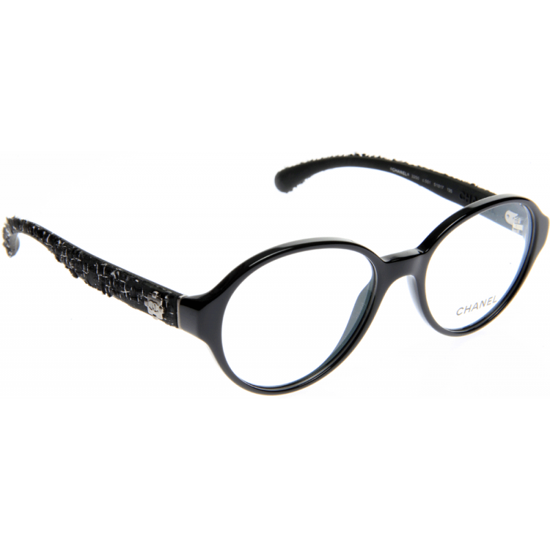 Chanel Prescription Eyeglass Frames : Chanel CH3250 C501 51 Glasses - Shade Station