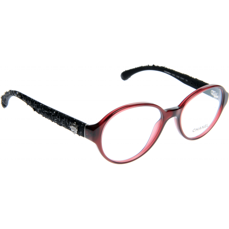 Chanel Prescription Eyeglass Frames : Chanel CH3250 C539 51 Glasses - Shade Station