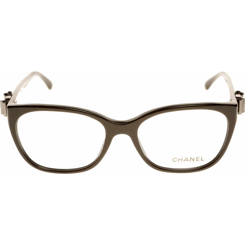 pin chanel reading glasses ch 3131 c888 opticalshiny black