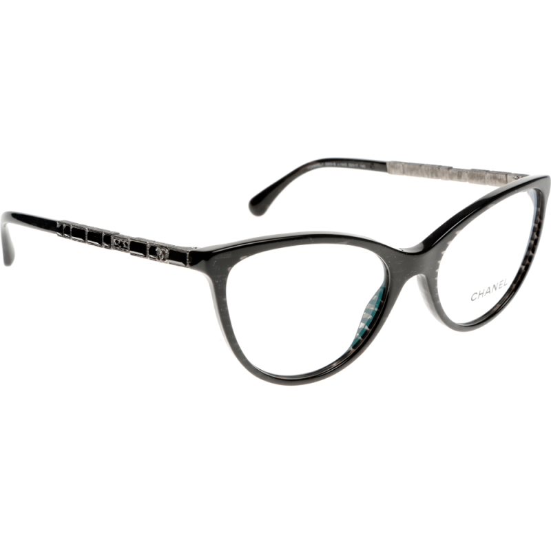 Chanel Eyeglass Frames For Less : Chanel CH3303B 1443 53 Glasses - Shade Station