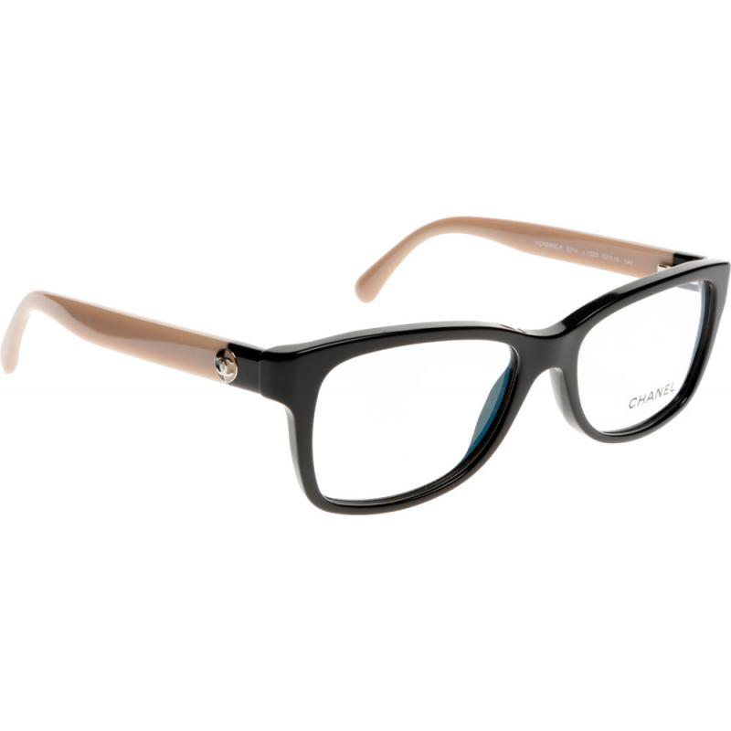 Chanel Eyeglass Frames For Less : Chanel CH3314 1333 52 Glasses - Shade Station