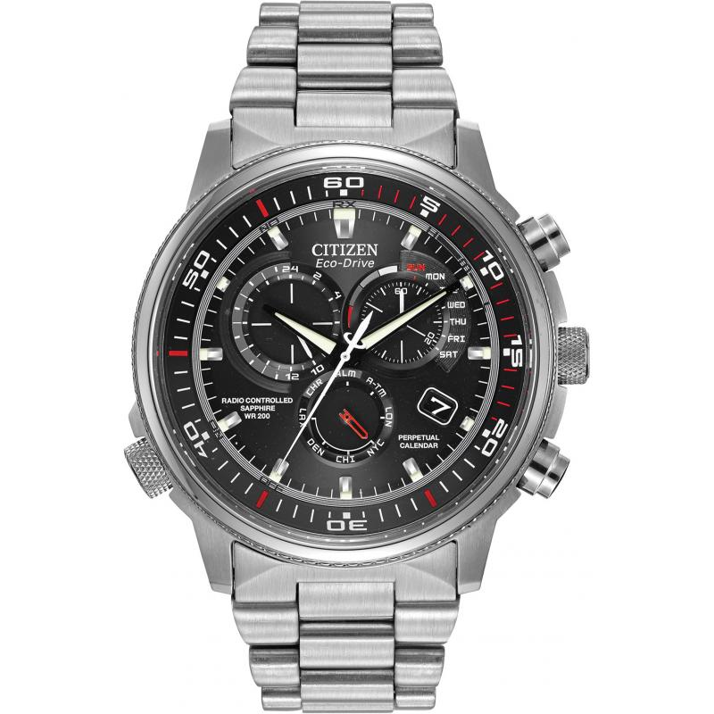 Citizen Eco-Drive Nighthawk A.T WR200 AT4110-55E Watch ...