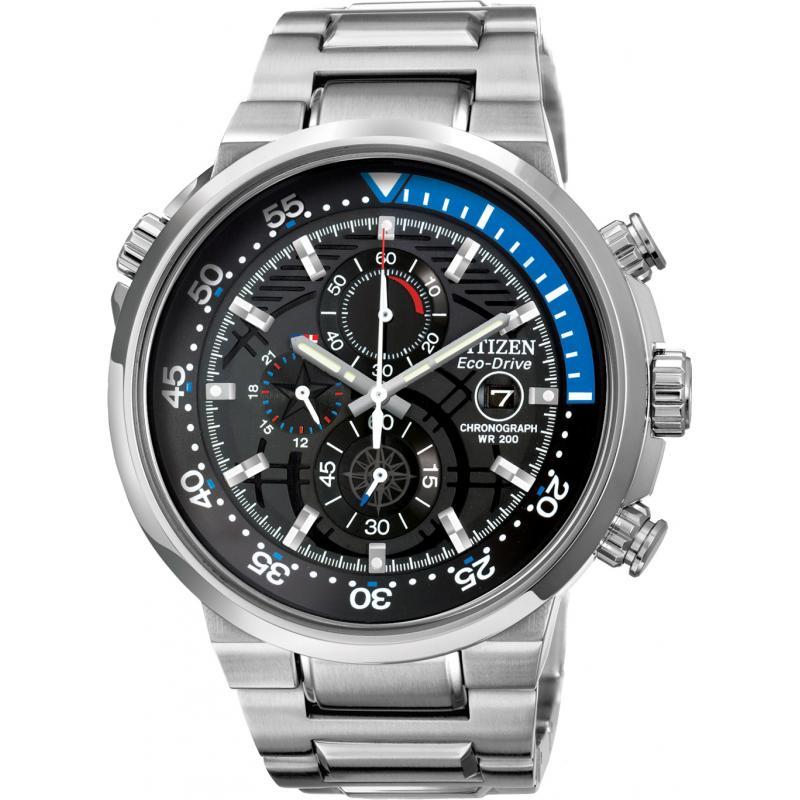 citizen eco drive endeavor chronograph ca0440 51e