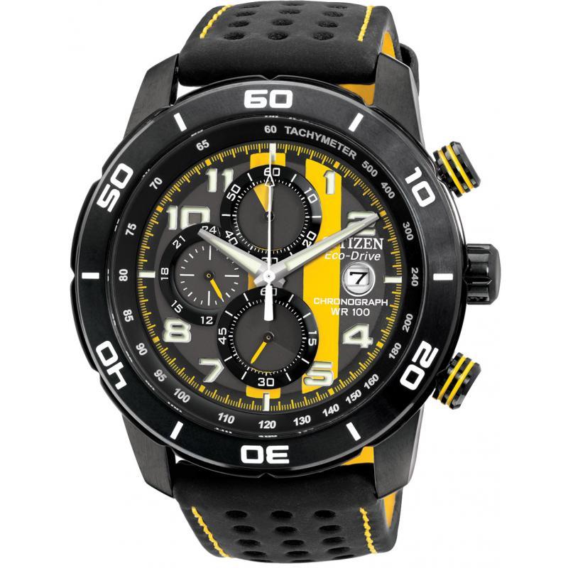 citizen eco drive primo chronograph ca0467 38e