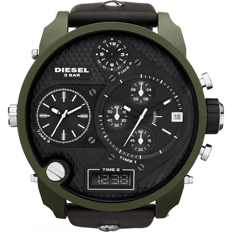 diesel big daddy dz7250 watch shade station