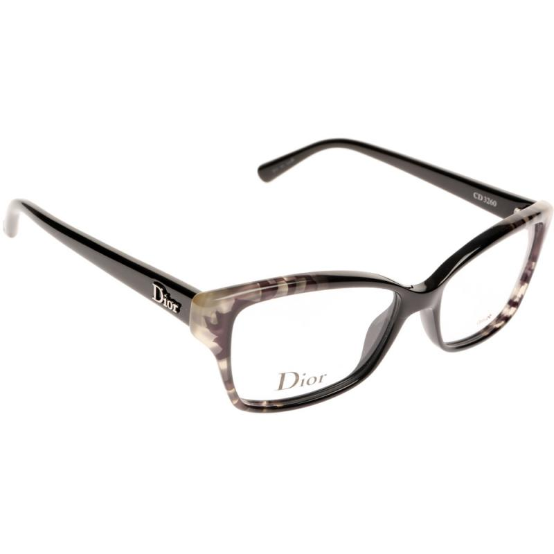 Eyeglass Frames Dior : Dior CD3260 BPA 5215 Glasses - Shade Station