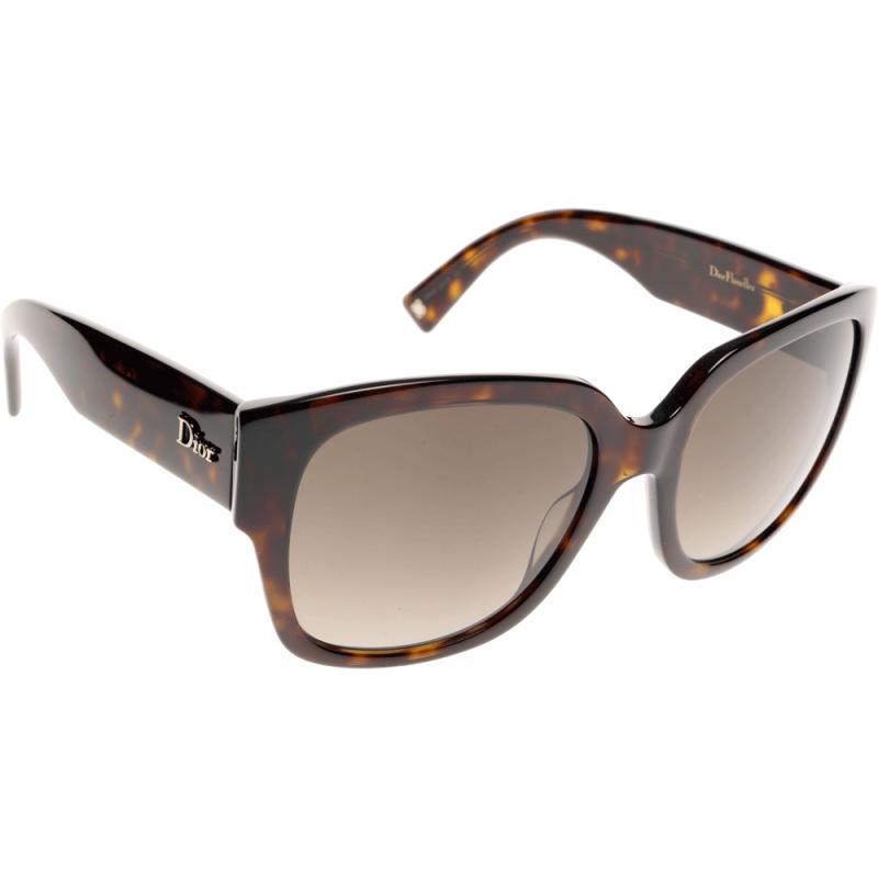 67200679e8f63 Dior Flanelle 2 086 HA 55 Sunglasses - Shade Station