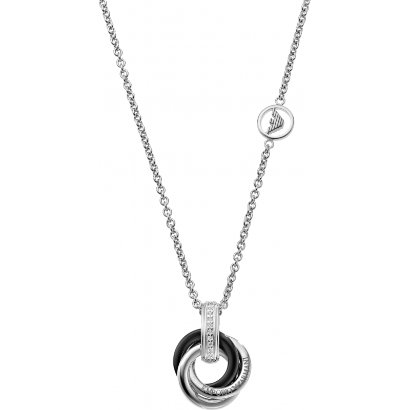 emporio armani necklace eg3078 jewellery shade station