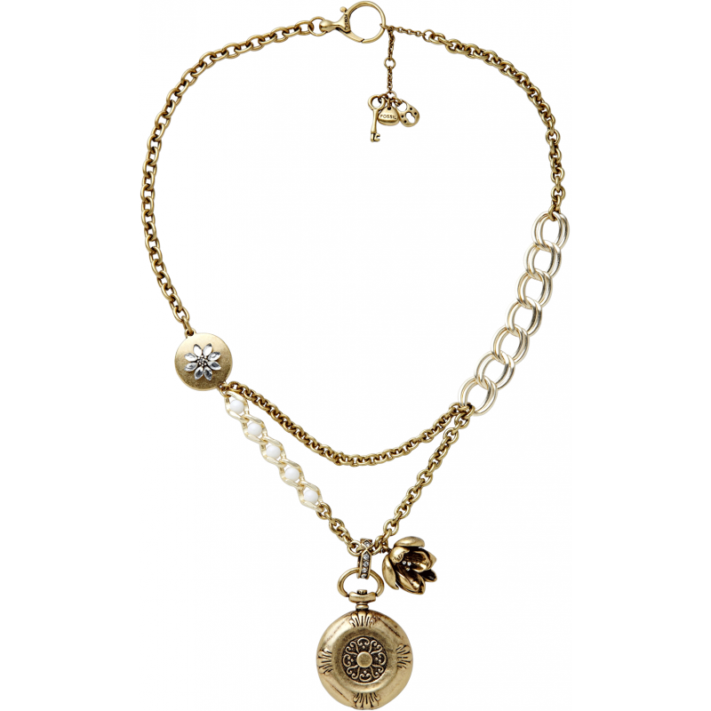 fossil necklace ja4266 jewellery shade station
