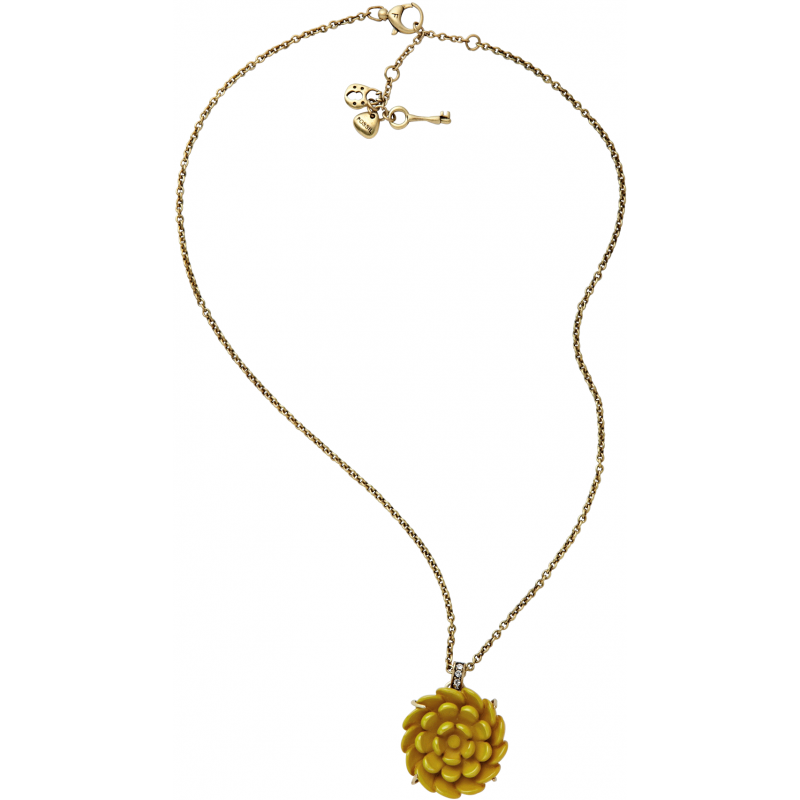 fossil necklace ja4344 jewellery shade station