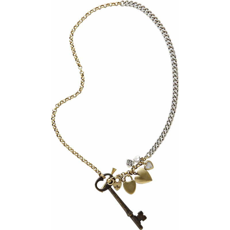 fossil necklace ja4724 jewellery shade station
