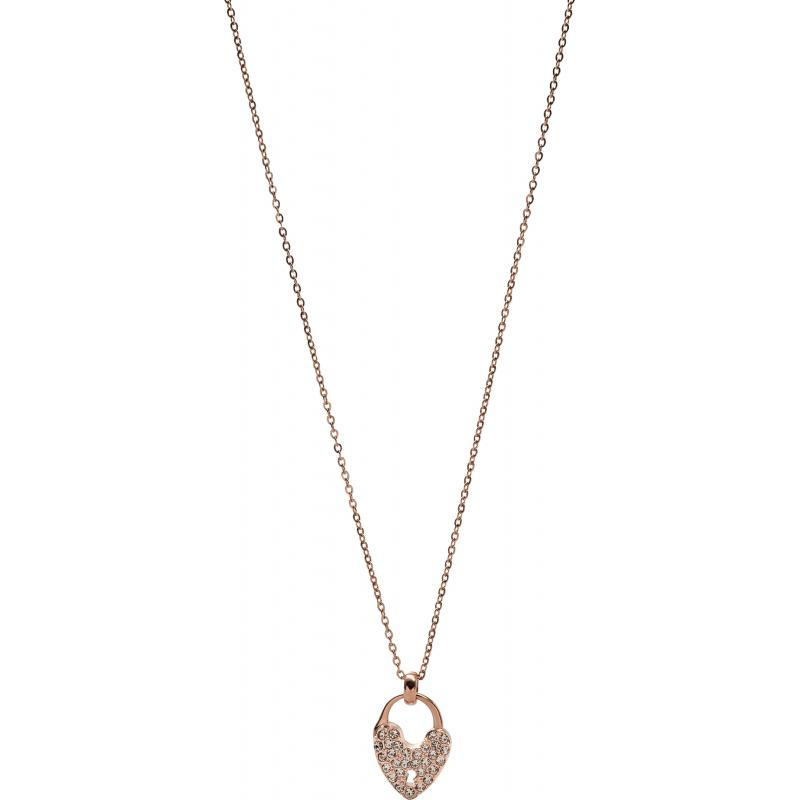 fossil necklace jf00296791 jewellery shade station