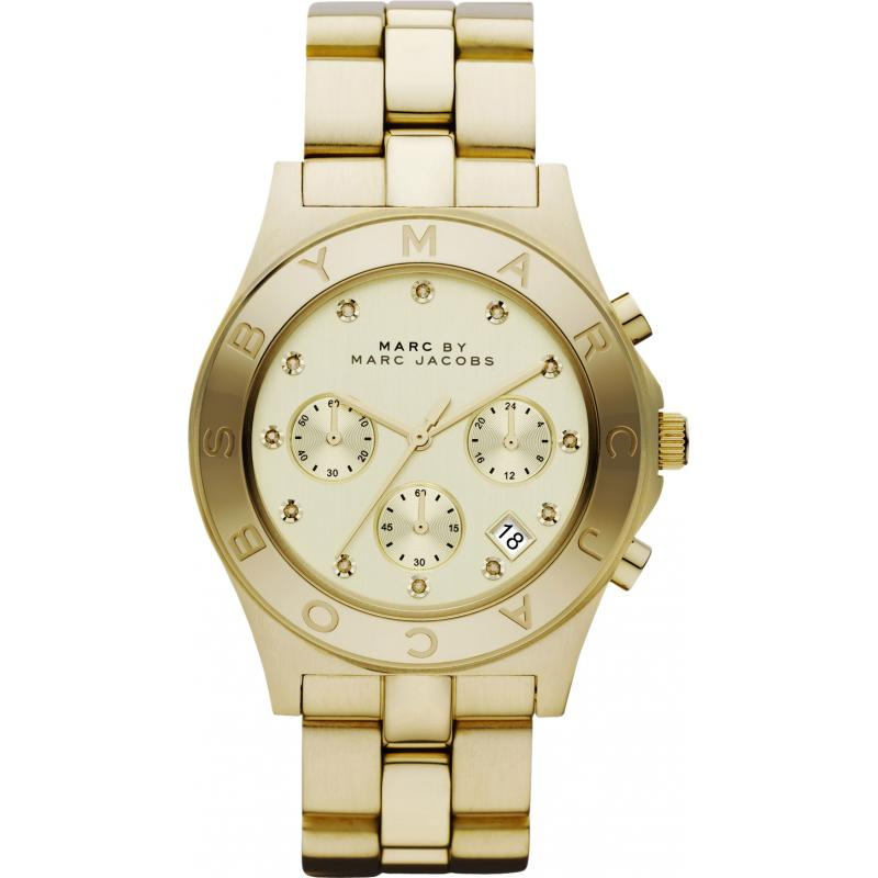 marc by marc jacobs blade chronograph mbm3101 watch