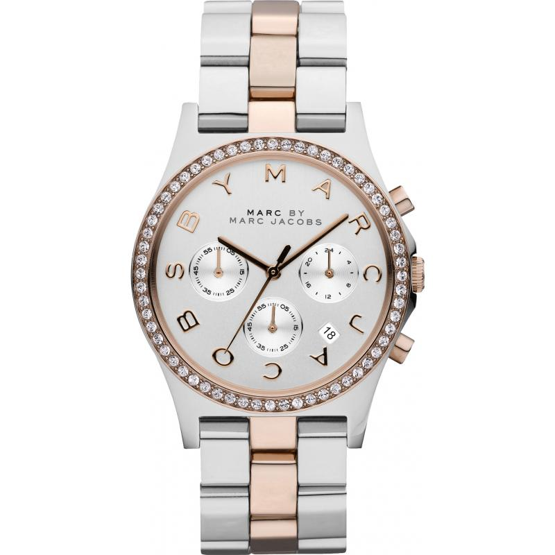 marc by marc jacobs henry chronograph mbm3106 watch