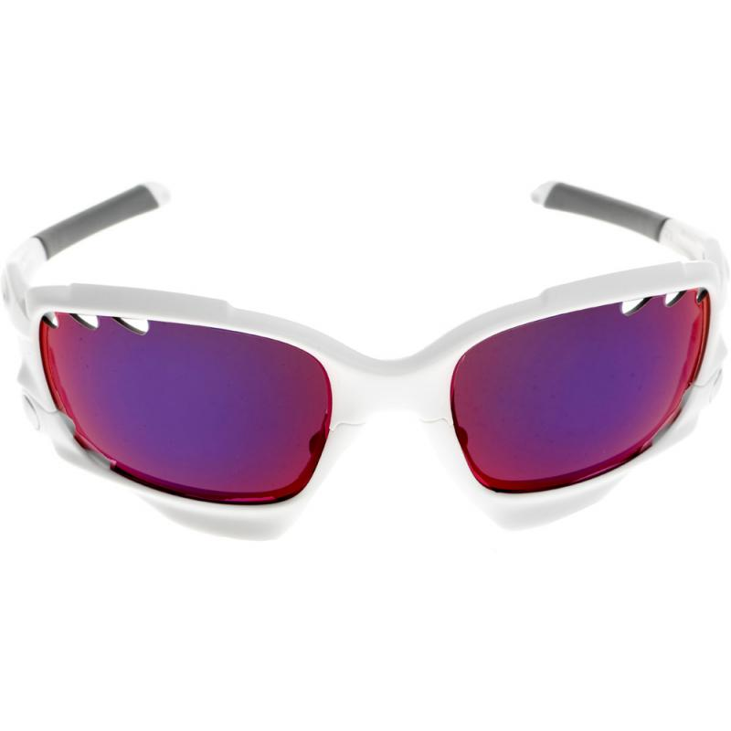 1adc8bfd52fbf Oakley Prizm Road Racing Jacket - Matte White prizm Road   Persimmon ...