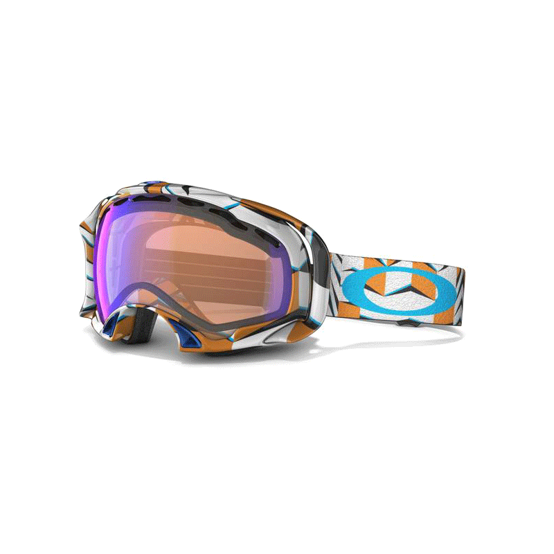 oakley orange splice goggles