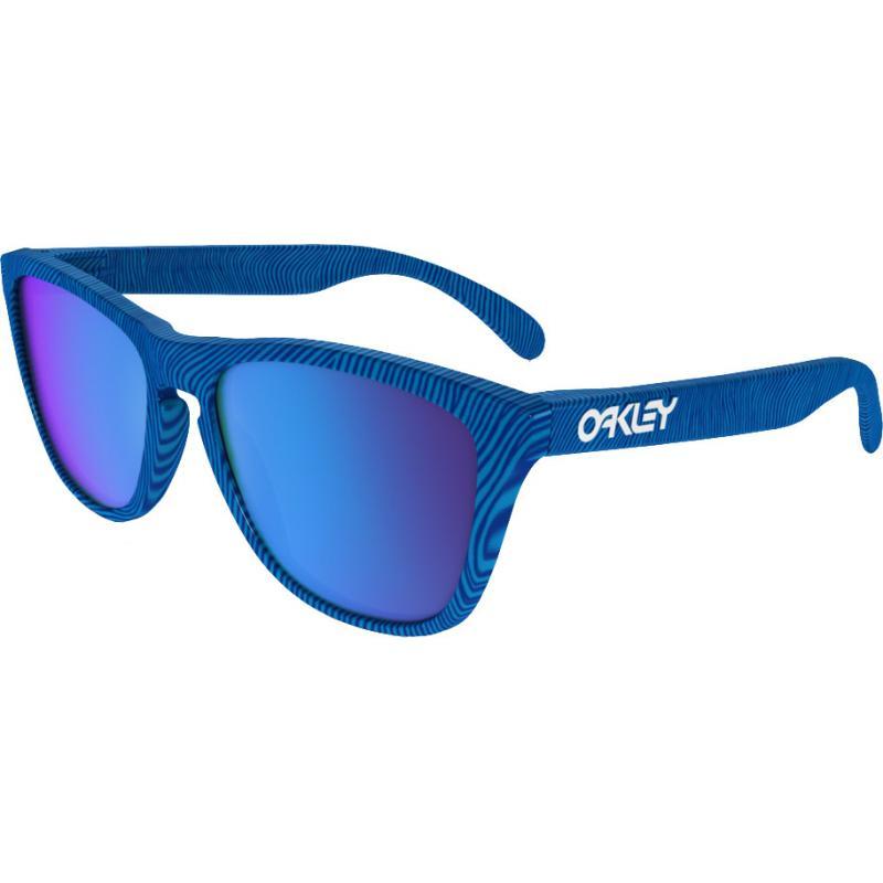 Oakley Herren Sonnenbrille Frogskins Blau Matte Blue