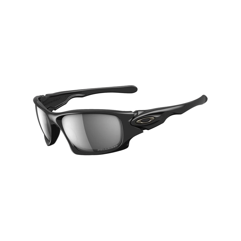 oakley ten polarised polished black oo9128 05 shade station