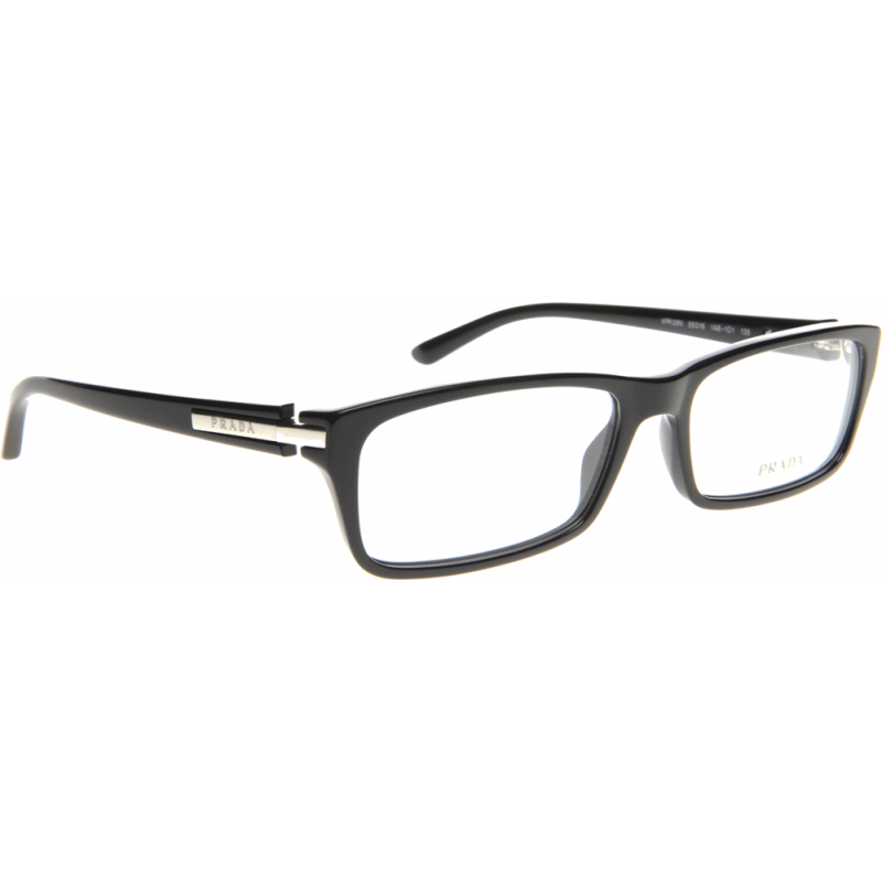 prada pr05nv 1ab1o1 55 glasses shade station