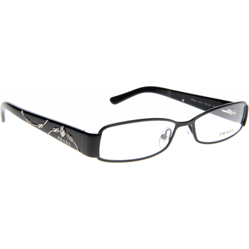 prada pr58lv 1bo1o1 51 glasses shade station