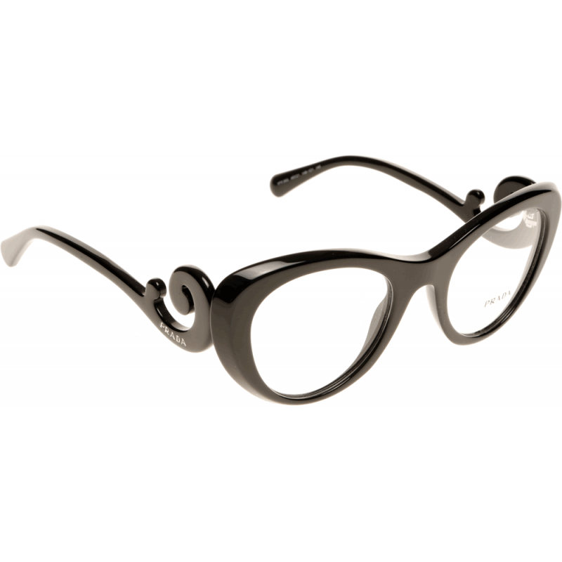 prada baroque pr06qv 1ab1o1 49 glasses shade station
