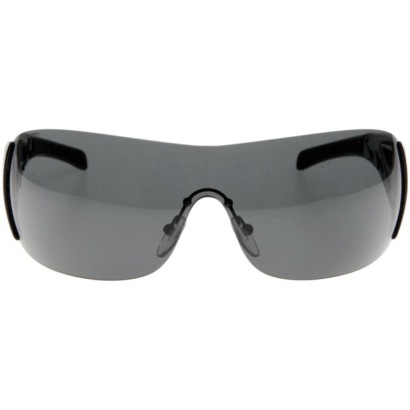 oakley gascan sunglasses black white frame black lens 0489
