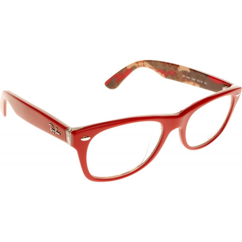 Prescription Glasses Ray Ban Rx5237 : Ray-Ban RX5184 5406 50 Glasses - Shade Station