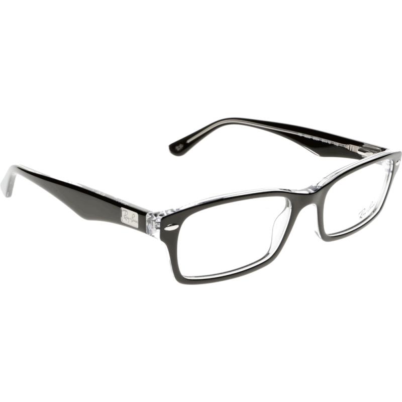 Prescription Glasses Ray Ban Rx5237 : Prescription Ray-Ban RX5206 2034 52 Glasses