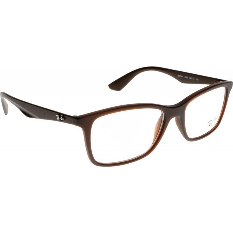 Prescription Glasses Ray Ban Rx5237 : Prescription Ray-Ban RX7047 5451 54 Glasses