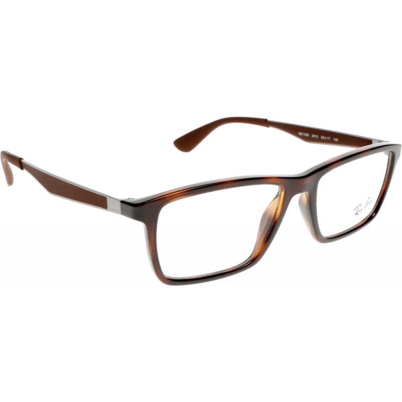 Prescription Glasses Ray Ban Rx5237 : Ray-Ban RX7056 2012 55 Glasses - Shade Station